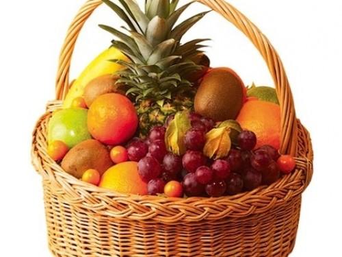 Корзина фруктов большая